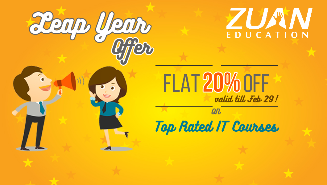 Leap Year Offer at Zuan Education on IT courses