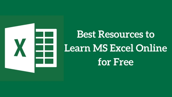 Learn microsoft excel free