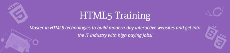 HTML5 Training Course