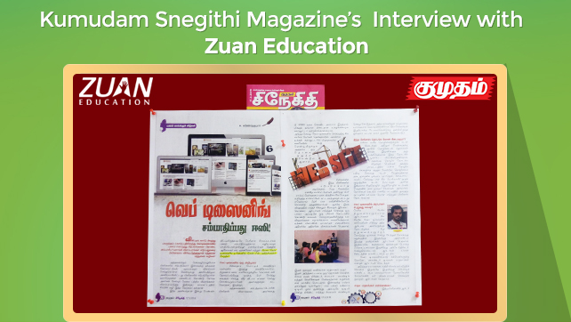 Kumudam Snegithi Interview - Zuan Education