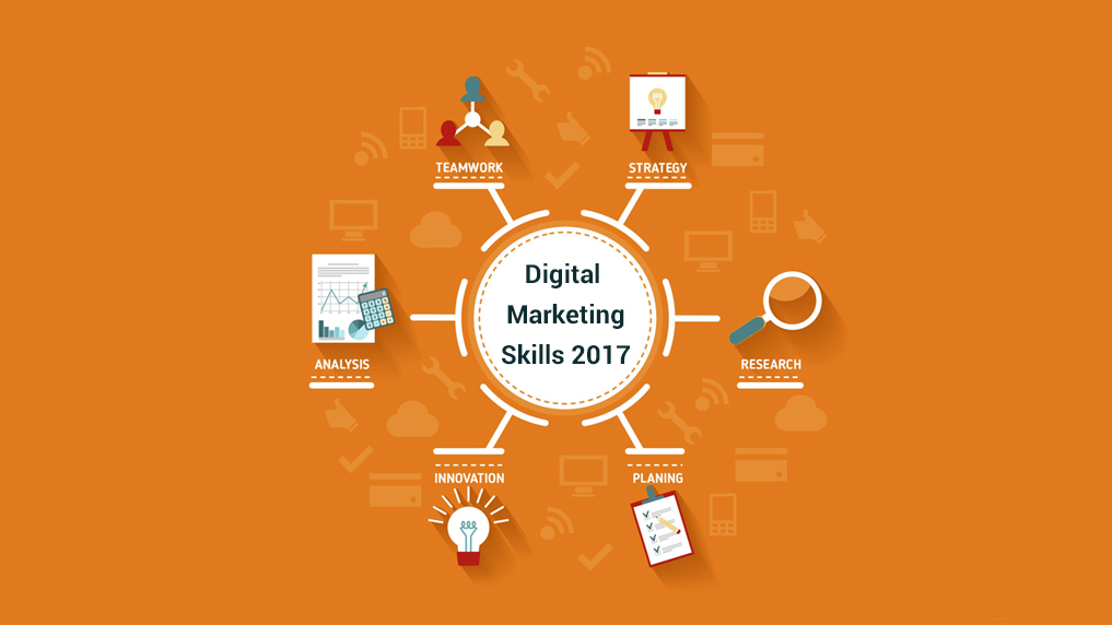 Top Digital Marketing Skills 2017