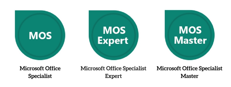 Microsoft Office Specialist Certifications (Specialist, Expert, Master)