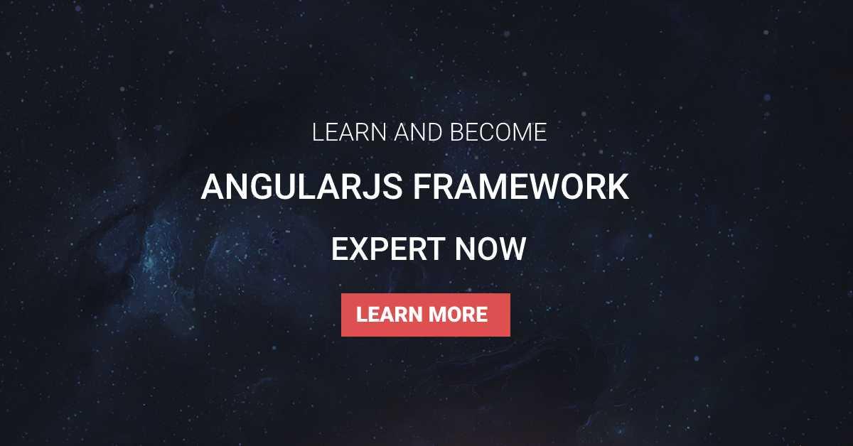 AngularJS Framework Course