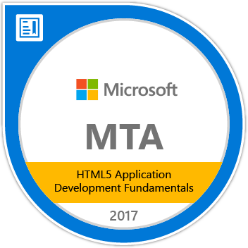 HTML5 Application Development Fundamentals (98-375)