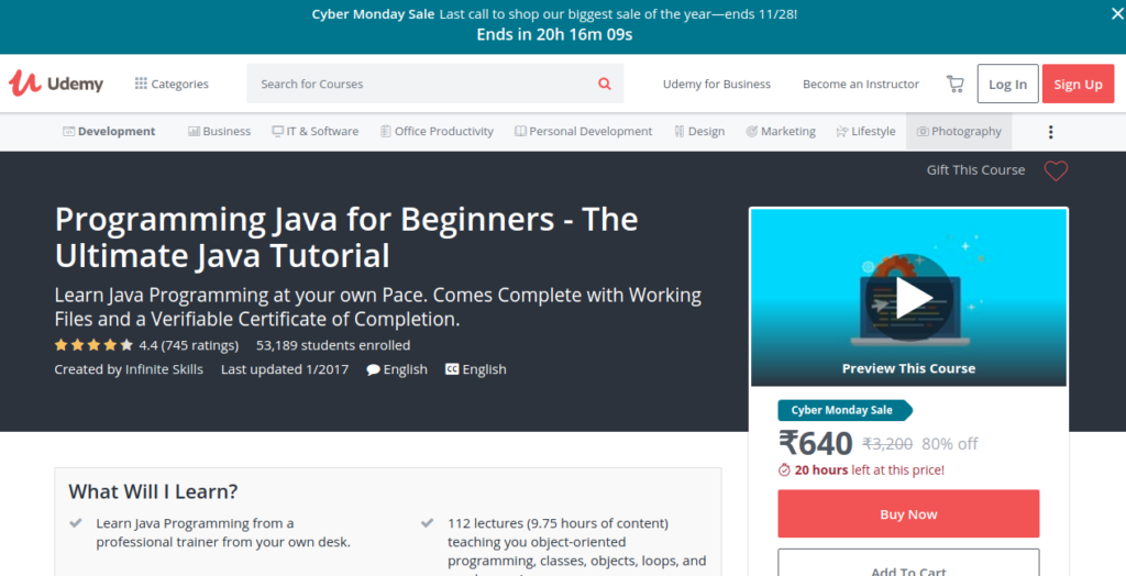 Image Result For Learn Java Online Coursera