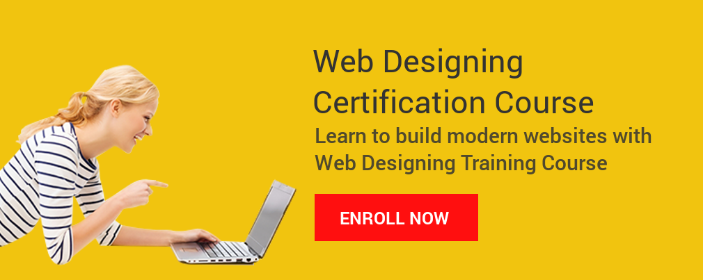 Web Designing Certification Course