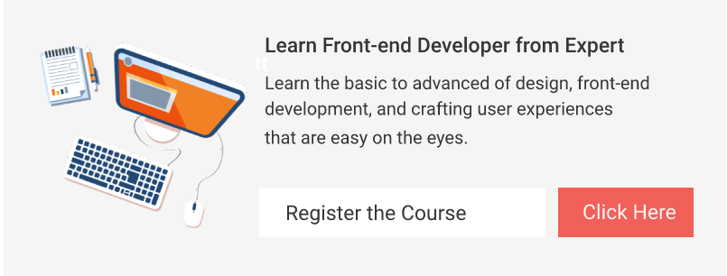 Front end Development Training