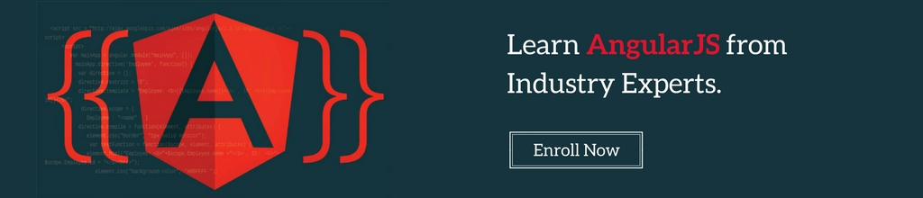 Learn AngularJS from Industry Experts.