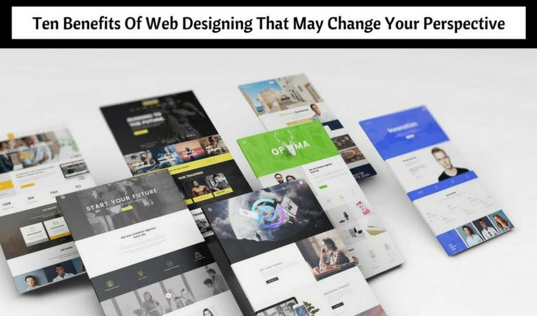 web designing benefits