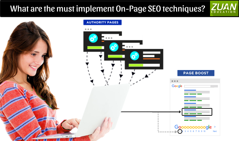 What are the must implement On Page SEO techniques?