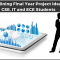 Data Mining Final Year Project Ideas for CSE, IT and ECE Students