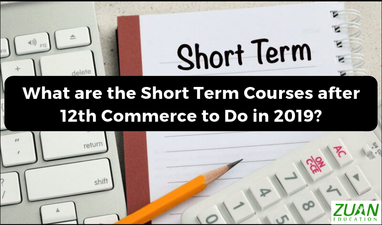 What are the Short Term Courses after 12th Commerce to Do in 2019?