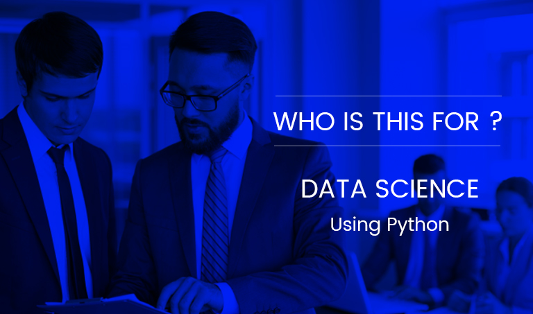 Who Is This For? Data Science Using Python Workshop
