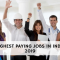 Highest Paying Jobs in India 2019