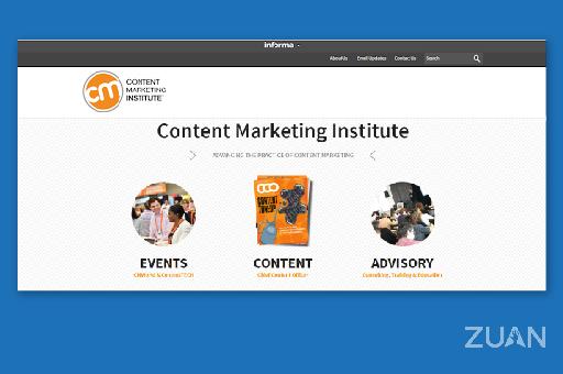 Content Marketing Institute digital marketing blog site
