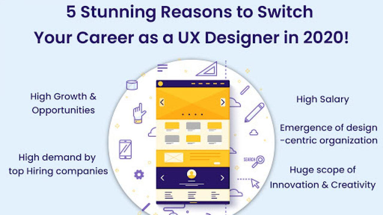 Ux Design Career Top 5 Reasons To Start In 2020