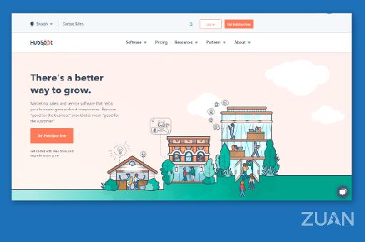 Hubspot digital marketing blog site