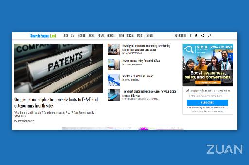 Search Engine Land Digital Marketing Blog site