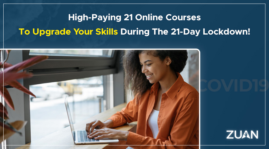 high paying 21 online courses