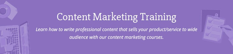 Web Content Writing and Marketing Training