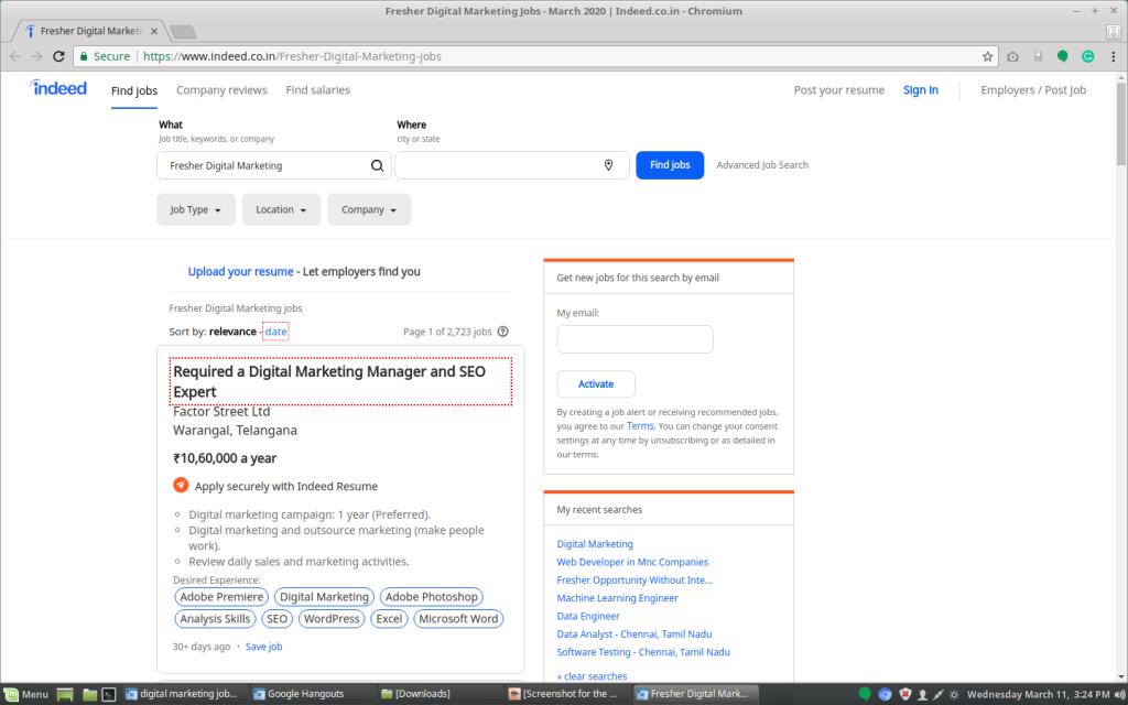 Digital Marketing Jobs on Indeed