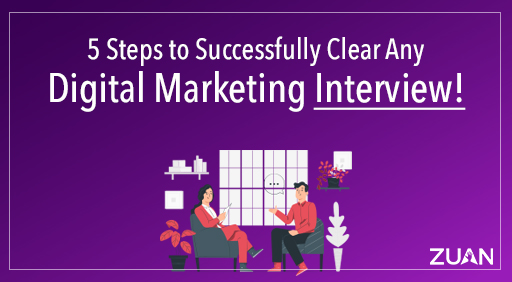 5 steps to successfully clear any digital marketing interview