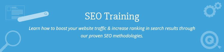 Search engine Optimization and Marketing training