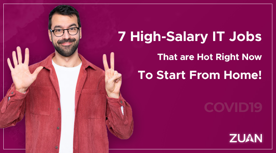 7 High salary IT jobs to start from home