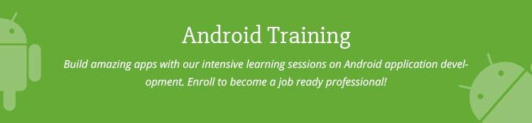 Android App Development Basics for Freshers