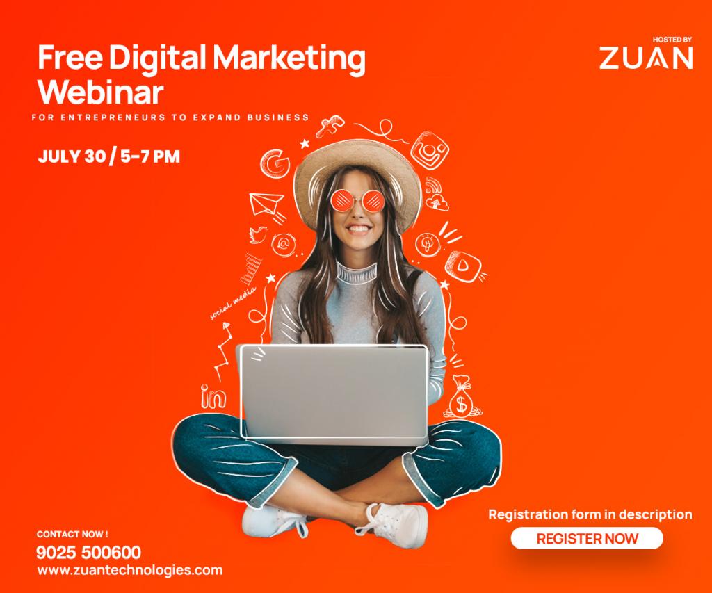 Free Digital Marketing Webinar