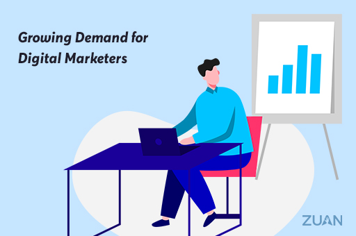 Growing Demand for Digital Marketers