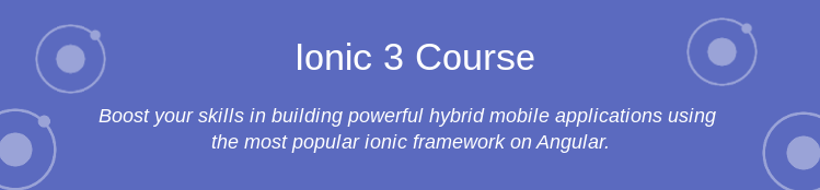 Ionic Training Course
