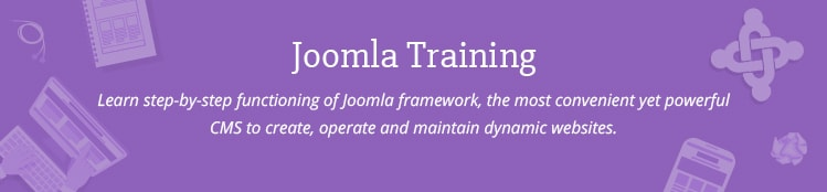 Joomla Training Course