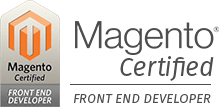 Magento front-end developer Certification